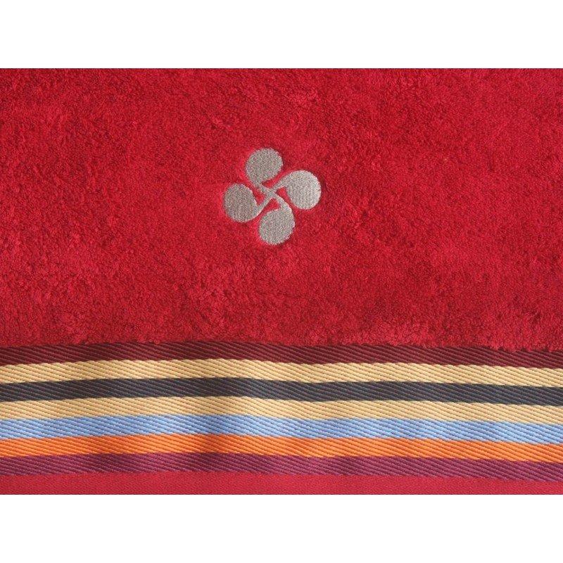 Mante rouge basque